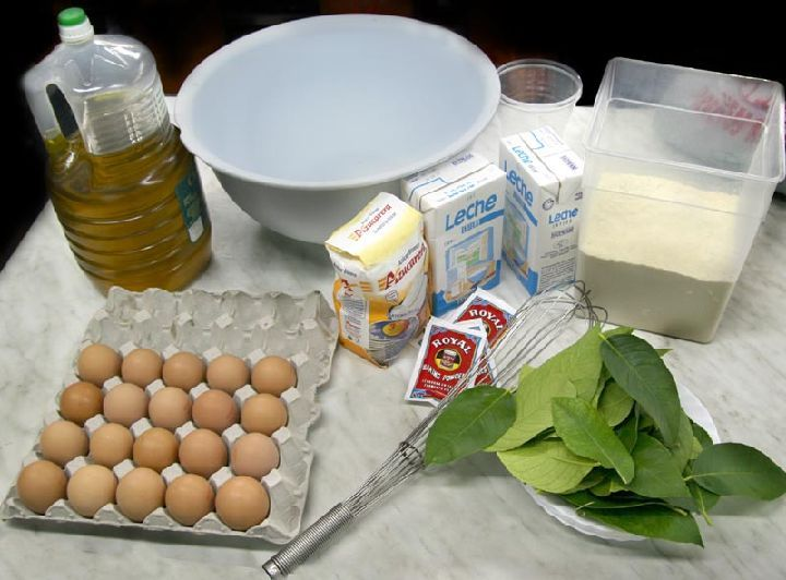 Paparajote Ingredientes