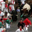 Бег с быками в Испании
