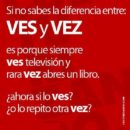 Разница между «Ves» y «Vez»