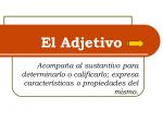 Имя прилагательное в испанском языке