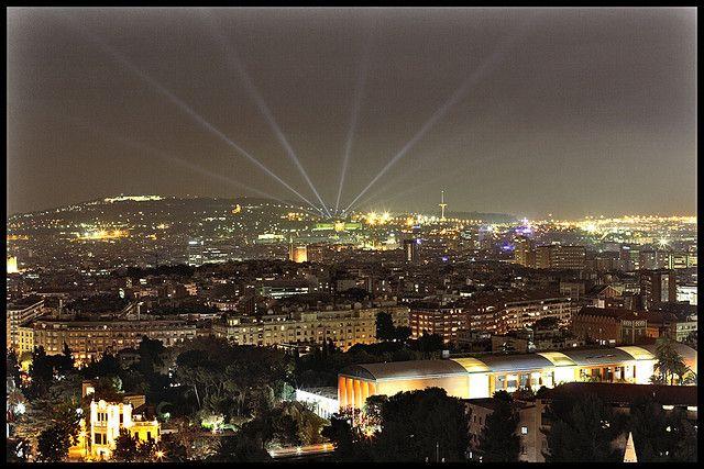 Barcelona desde el Mirablau